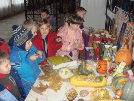 1413130976 osen3 Композиції з овочів та фруктів до свята осені