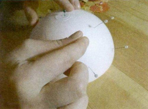Декоративний шар своїми руками.