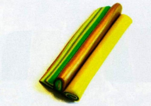 Кулон у техніці калейдоскоп. Полімерна глина.