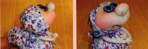 Лялька благополучница господарочка своїми руками.