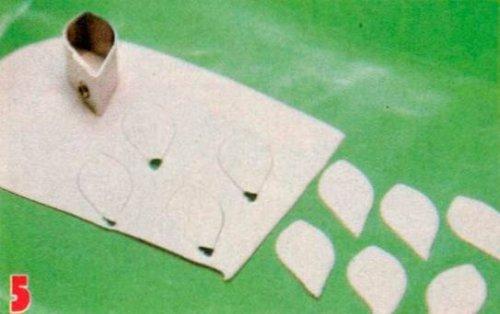 Пролісок своїми руками з полімерної глини.