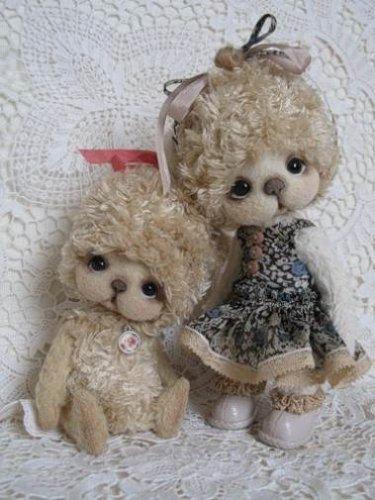 Ведмедики Тедді. Як створюються ведмежата в стилі Тедді.