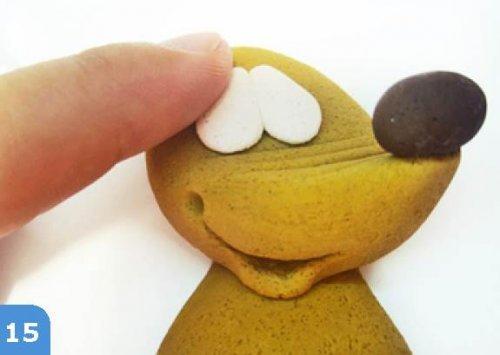 Їжачок з солоного тіста своїми руками.