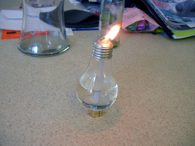 Как сделать электро лампы
