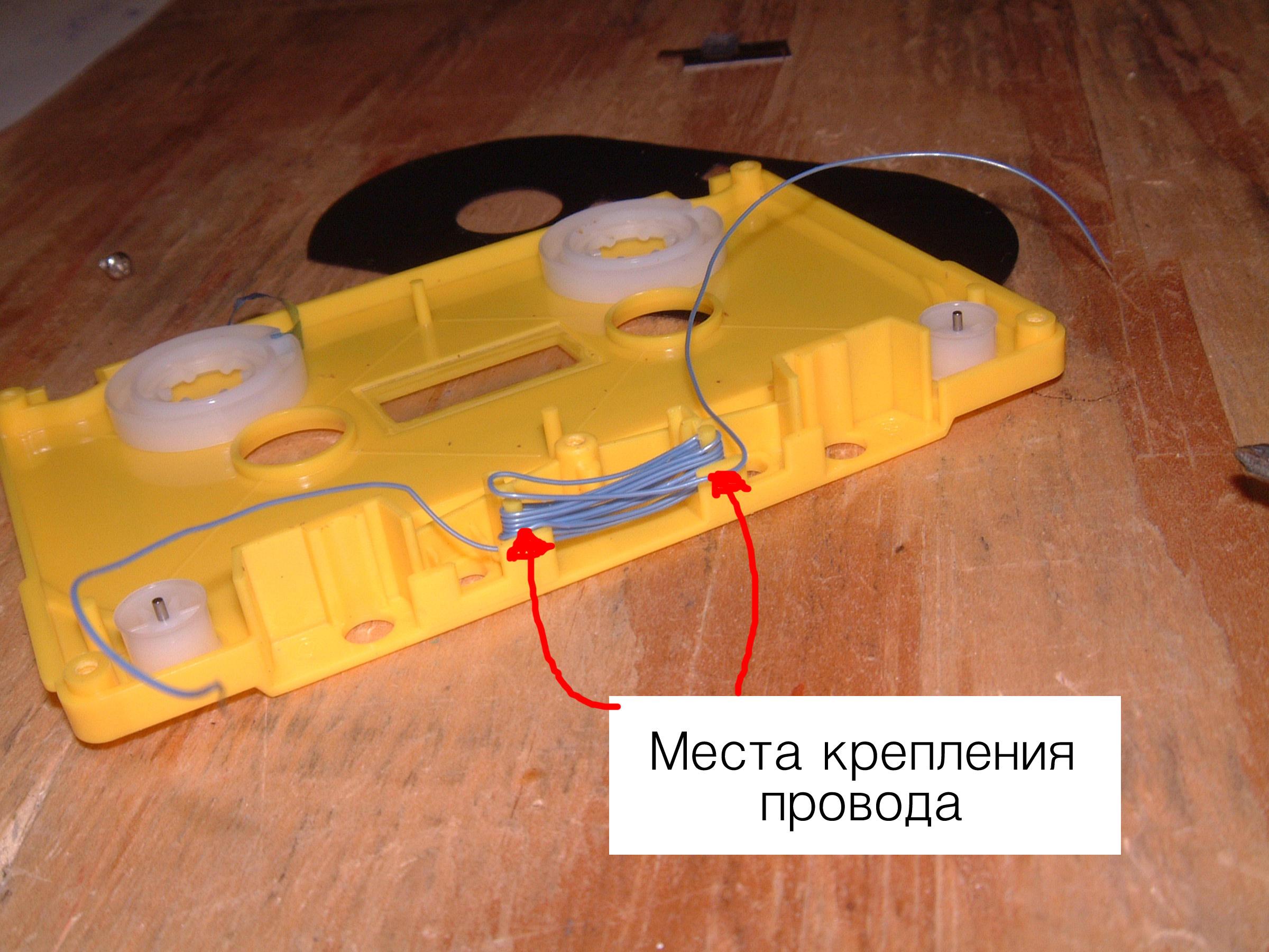 Магнитофонная головка своими руками