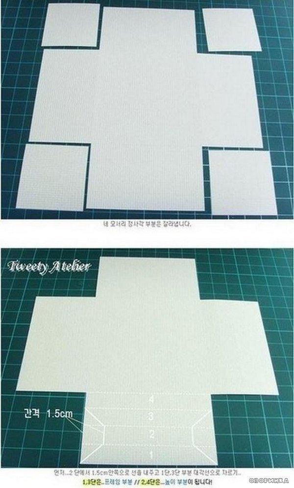 Как из бумаги сделать рамку для фото 819