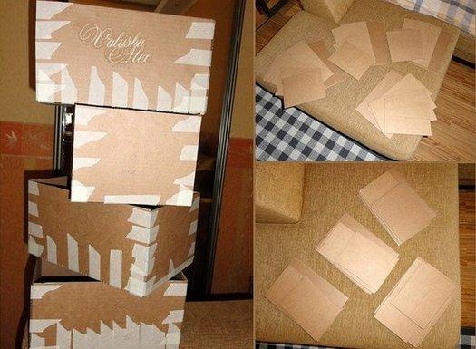 Плетений коробка з газетних трубочок, покроковий майстер клас