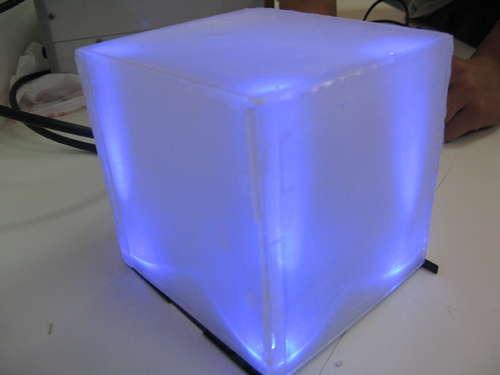 Простий корпус для світломузики
