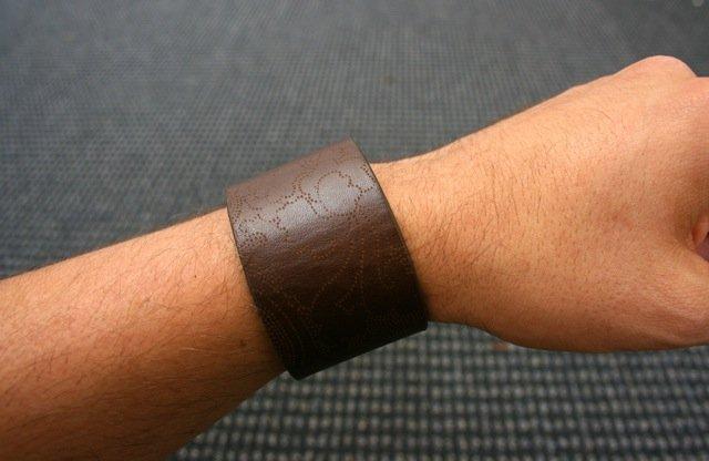 Шкіряний браслет