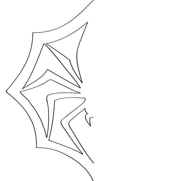 Сніжинка павук