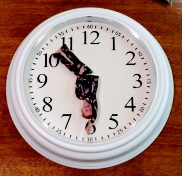 Годинник з фотографією