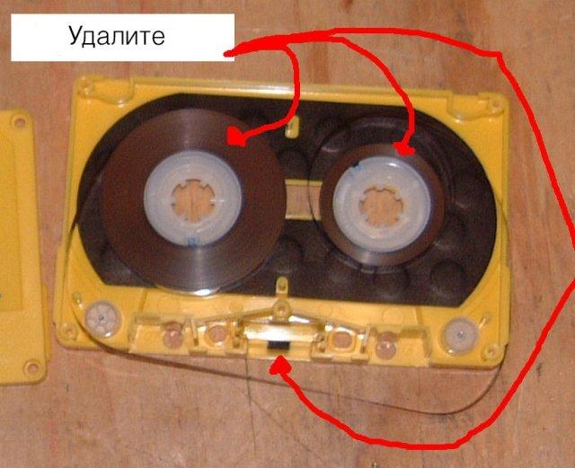 Как сделать кассетного магнитофона своими руками 12