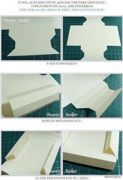 Об\ємна рамка з паперу
