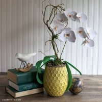 Орхідеї з паперу, майстер клас з шаблонами.