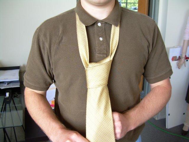 Як зав\язати краватку