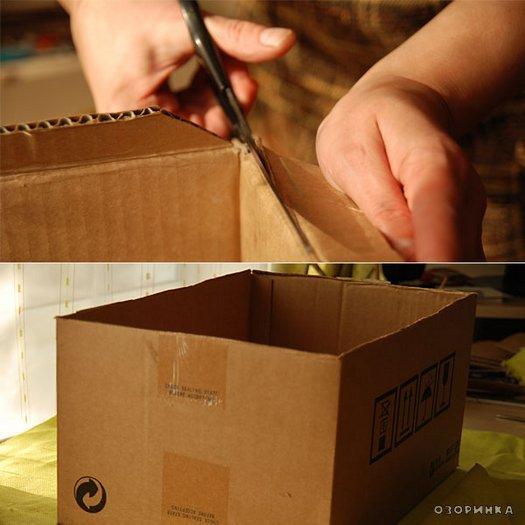 Короб для вещей своим и руками