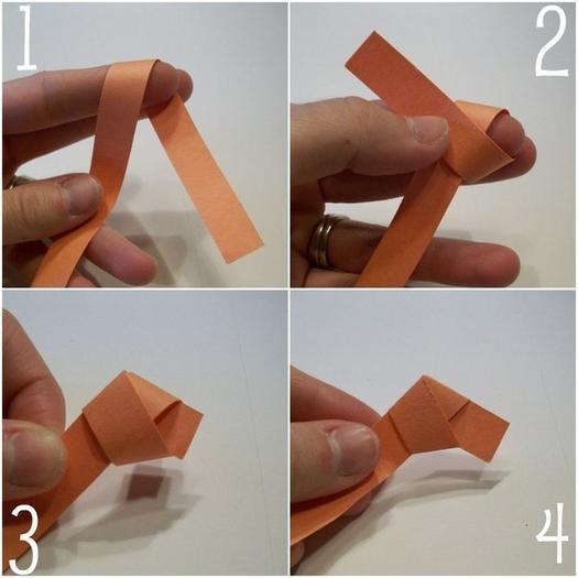 Как сделать звёздочки из бумаги 795