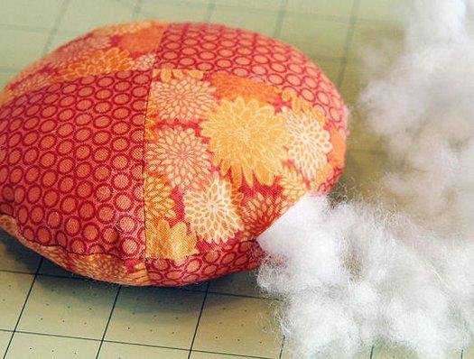 Цікава игольниц у формі гарбуза