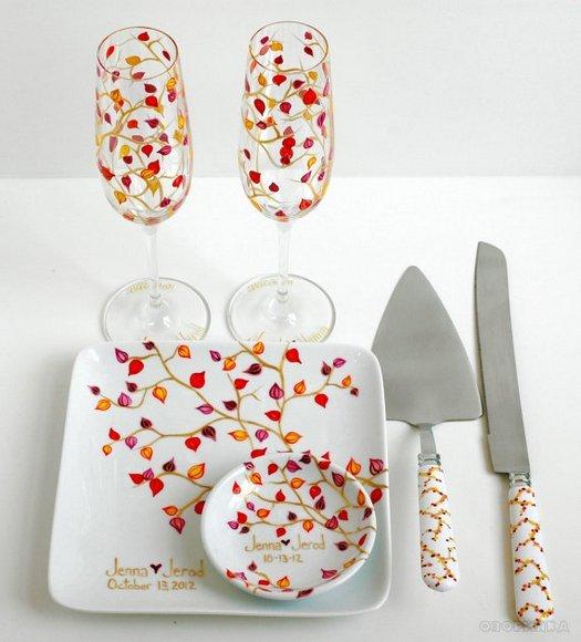 Ідеї для розпису посуду