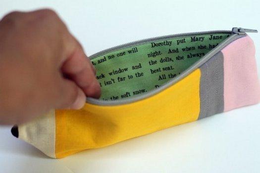 Пенал для олівців своїми руками. Майстер клас