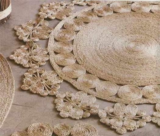 Плетение ковриков из шпагата своими руками мастер класс 88
