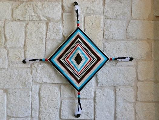 Прикрашаємо стіни, плетений декор своїми руками