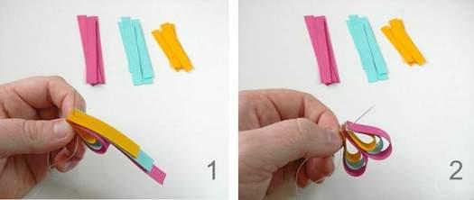 Робимо шпильки й брошки з стрічок своїми руками