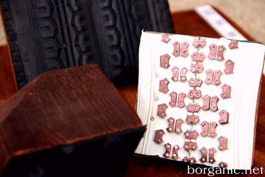 Робимо штампи своїми руками з велосипедних шин
