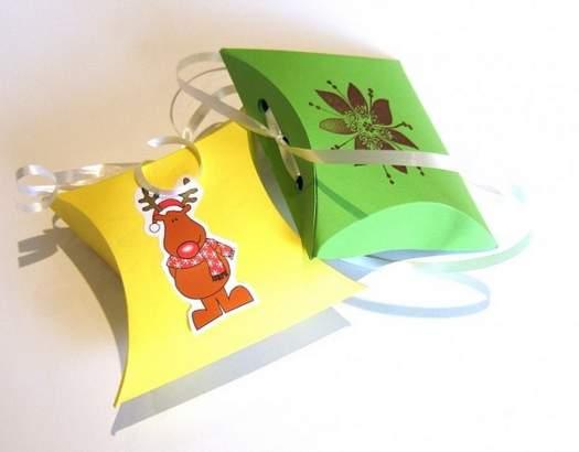 Робимо упаковку з паперу для подарунка