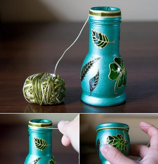 Робимо вазу з банки своїми руками