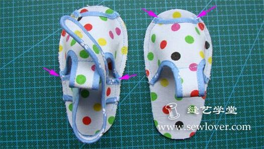 Шиємо дитячі сандалії, майстер клас з викрійкою