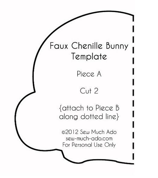 Шиємо оригінального кролика на Великдень.