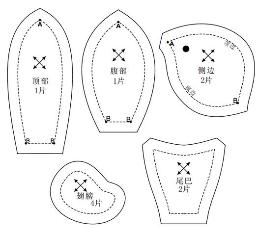 tekstiln ptashki svoyimi rukami mayster klas 4 Текстильні пташки своїми руками. Майстер клас.