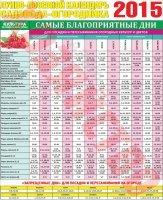 1422299955 posvniy kalendar 2015 Місячний посівний календар на 2015 рік