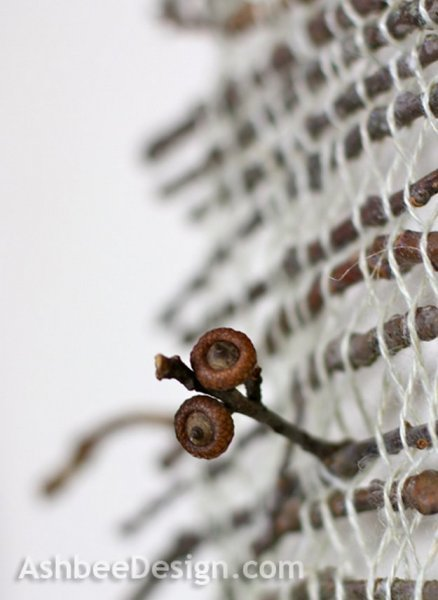 Декоративне панно на стіну з природних матеріалів.