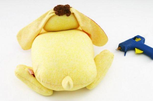 Іграшка подушка собака своїми руками.