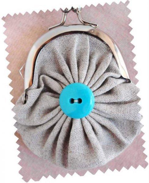 Маленький гаманець в стилі йо йо своїми руками