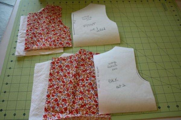 Майстер клас шиття літнього дитячого сукні.
