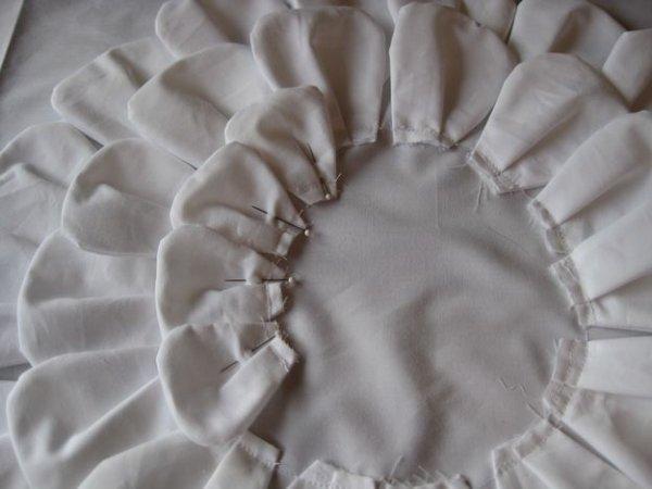 Майстер клас виготовлення декоративної подушки з квіткою.