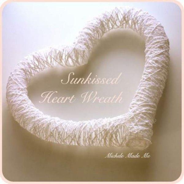 Повітряне серце з ниток на день Св. Валентина