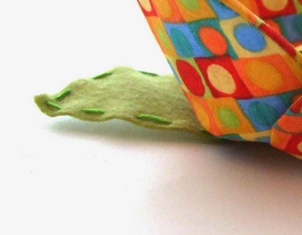 Робимо чашу з тканини для зберігання ниток.