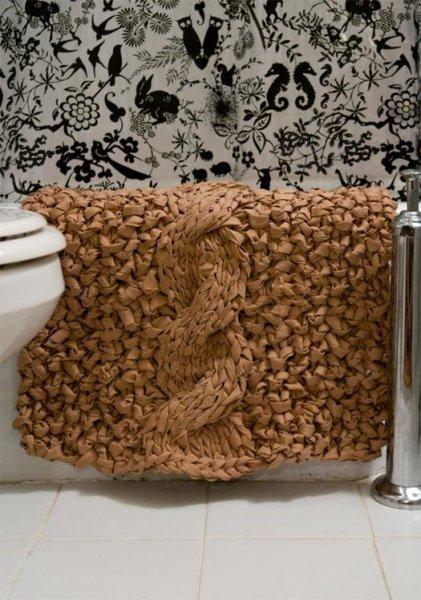 Робимо килимок у ванну своїми руками