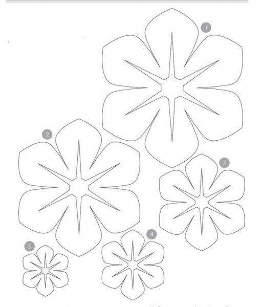 Робимо об\ємні квіти з фетру. Майстер клас з викрійкою.