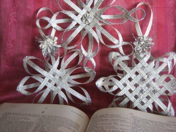 Робимо об\ємну сніжинку з паперу.