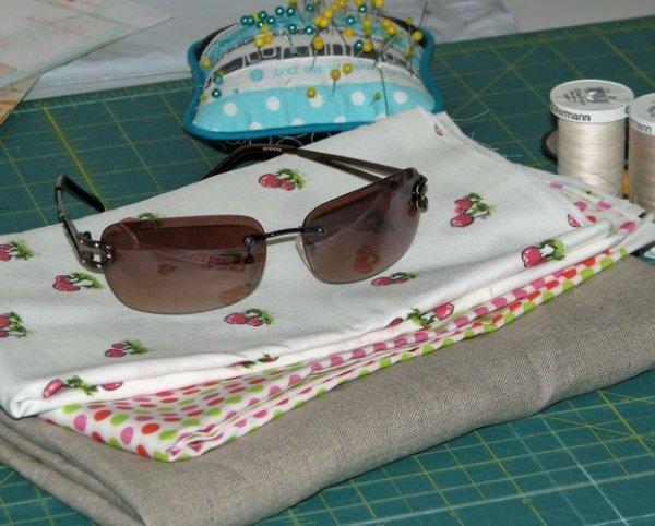 Ще один варіант шиття чохла для окулярів.