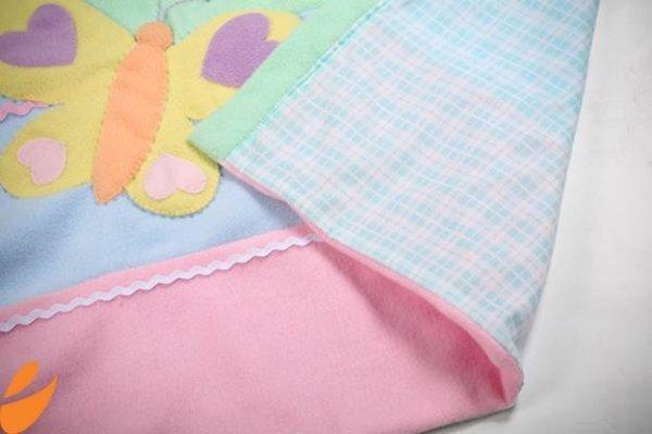 Шиємо дитяче ковдру з флісу своїми руками.