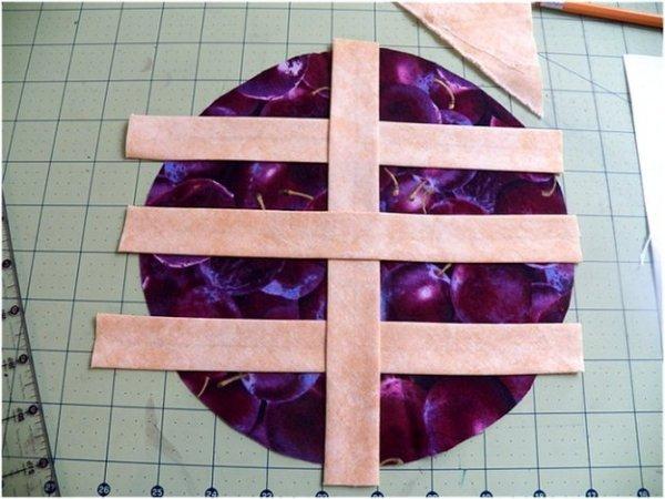 Шиємо прихватки з тканини для кухні, докладний майстер клас.