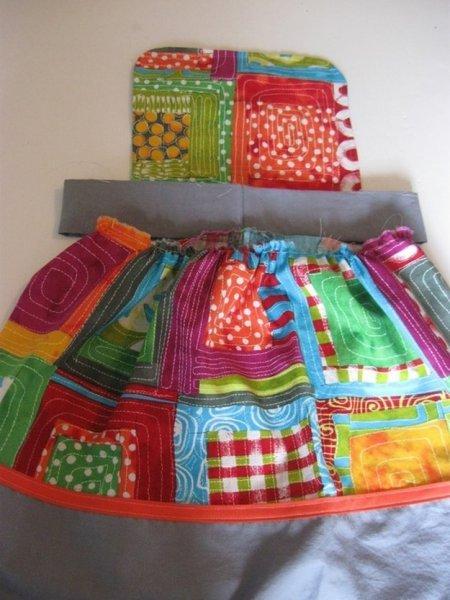Шиємо святковий сарафан для дівчинки.