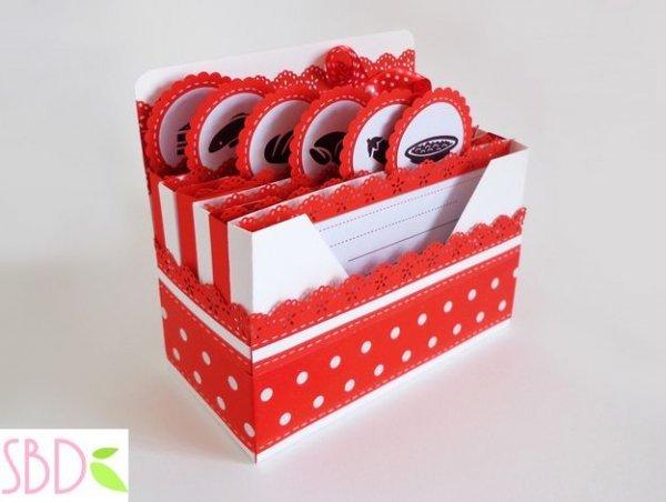 Створюємо коробку для кулінарних рецептів, відео мк.