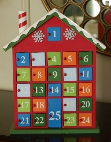 Створюємо новорічні адвент календар своїми руками, багато ідейок